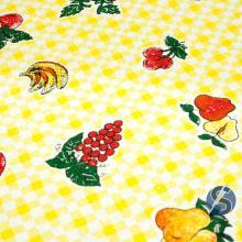 Tecido para Pano de Prato Frutas