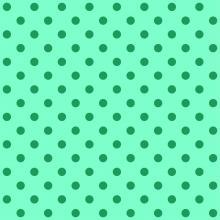 Tecido Tricoline Verde Tiffany Poá Médio Verde