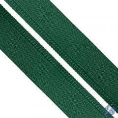 Zíper Nylon Nº5 Verde Escuro em Metro