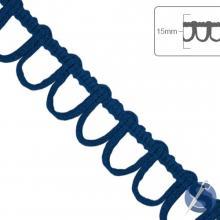 Ponto Curva São José - 15mm x 10m - Azul Marinho