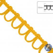 Ponto Curva São José - 15mm x 10m - Amarelo Ouro 8