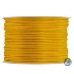 Cordão De Cetim 1 mm Amarelo Ouro -66