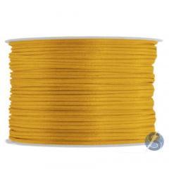 Cordão De Cetim 1 mm Intense Gold 69