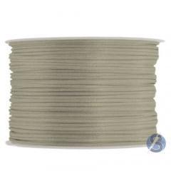 Cordão De Cetim 1 mm  Prata 77