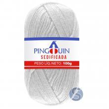 Lã Sedificada Pingouin 002 Branco 100gr