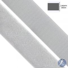 Velcro Branco 25mm Peça 25 Mts