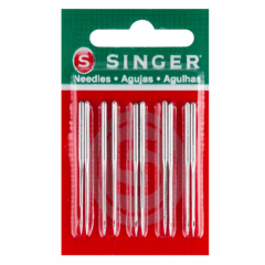 Agulha Singer Overlock E Interlock 6120 Com 10 Unidades Nº 110/18