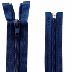 Zíper Destacável Azul Marinho 55 Cm