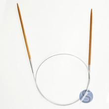 Agulha Circular Bambu 6,0 mm 80cm