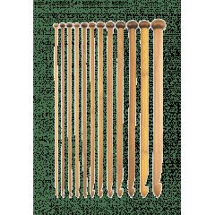 Agulha de Crochê Tunisiano Bambu 8,0 mm
