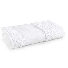 Toalha Banho para Pintar Melina Branco Karsten