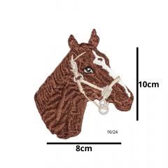 Aplique Termocolante Cavalo 3 Unidades Ref:16/24