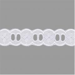 Passa Fita Branco PP083-020 001 2.0 cm x 13,70 metros