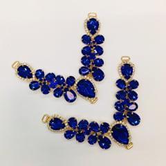 Cabedal para Chinelo C69 Azul Royal