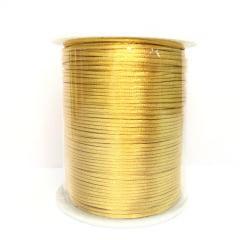 Cordão De Cetim 1 mm Dourado