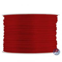 Cordão De Cetim 1 mm  Vermelho 01