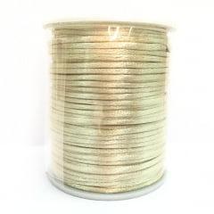 Cordão De Cetim Champanhe 2 mm