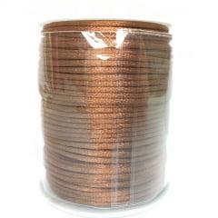 Cordão De Cetim Marrom Claro 2 mm