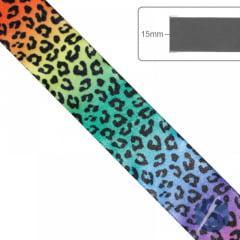 Fita de Cetim Oncinha Multicolor Gitex 38 mm
