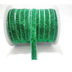 Fita Glitter Verde 20 mm 10 Metros