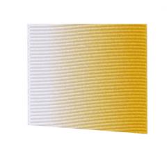 Fita Gorgurão Multicolor Laranja e Branco