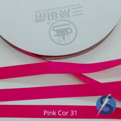 Fita Gorgurão Sanding  Pink 31 10 mm
