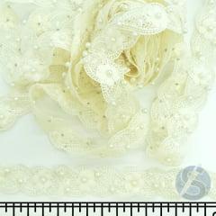 Guipir Marfim Floral