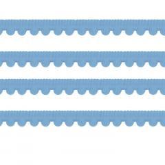 Pompom Grelot Azul Bebe 17 mm Peça 10 Metros