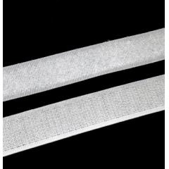 Velcro Adesivo Branco  20 mm Peça Com 25 metros