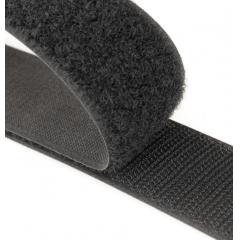 Velcro Preto  50 mm Peça 25 mts