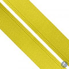 Zíper Nylon Nº5  Amarelo canario em Metro