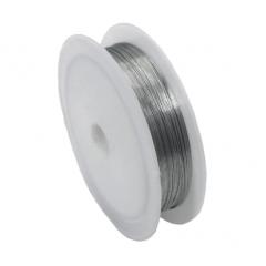 Arame Prata Para Artesanato 0.3mm