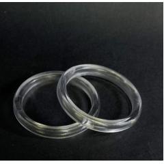 Argola Cristal 45  mm