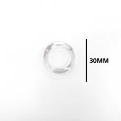 Argola Cristal 30 mm