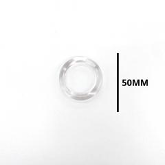 Argola Cristal 50 mm