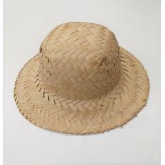 Chapéu De Palha Redondo 1 Unidade