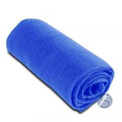 Meia de Seda Azul Royal Lisa para Artesanato