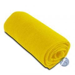 Meia de Seda Amarelo Sol Lisa para Artesanato