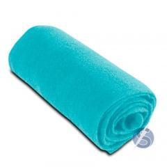Meia de Seda Azul Tiffany Lisa para Artesanato