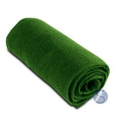 Meia de Seda Verde Escuro Lisa para Artesanato