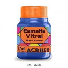 Esmalte Vitral 521 Azul Acrilex 37ml