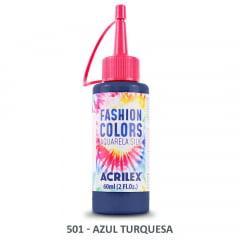 Tinta Aquarela Silk 501 Azul Turquesa 60 Ml