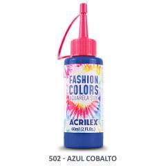 Tinta Aquarela Silk 502 Azul Cobalto 60 Ml