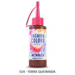 Tinta Aquarela Silk 514 Terra Queimada 60 Ml