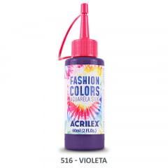 Tinta Aquarela Silk 516 Violeta 60 Ml