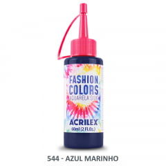 Tinta Aquarela Silk 544 Azul Marinho 60 Ml