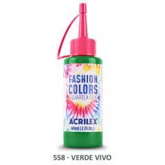 Tinta Aquarela Silk 558 Verde Vivo 60 Ml