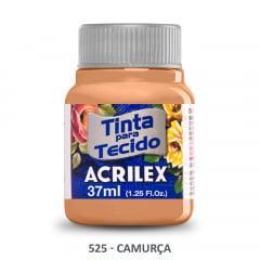 Tinta para Tecido Acrilex Fosca 525 Camurça 37ml