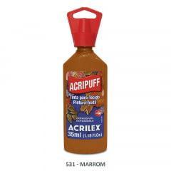 Tinta para Tecido Acripuff Acrilex  531 35ml
