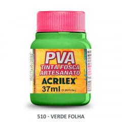 Tinta Pva Fosca para Artesanato 510 Verde Folha 37 ml